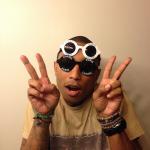 *Pharrell Williams(ファレルウィリアムス)着用CHANEL  VINTAGE  SUNGLASSES(シャネル ビンテージサングラス)*