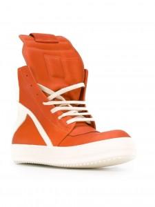 RICK OWENS(リックオウエンス)オレンジ×ホワイト2