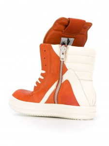 RICK OWENS(リックオウエンス)オレンジ×ホワイト3