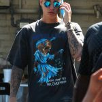 *Kanye West(カニエ・ウエスト)Justin Bieber(ジャスティン・ビーバー)着用ロックバンドTシャツMETALLICA(メタリカ)*