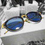 *THOM BROWNE (トムブラウン) TB-011型メガネで度入りカラーレンズ仕様の眼鏡を作ってみた*