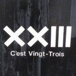 *EXILE ATSUSHIブランド XXIIIの読み方は!?C'est Vingt-Trois(セバントゥア)*