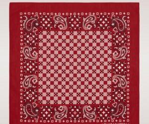 Louis-Vuitton-red-Damier-Bandana-scarf